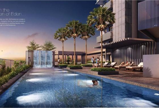 8m residences pool