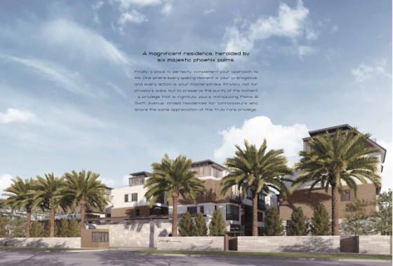 Palms facade
