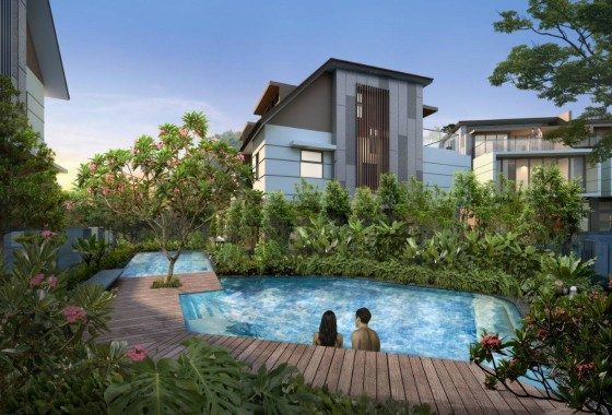 whitley residences pool view 2